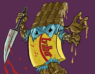 Halloween Food Monsters
