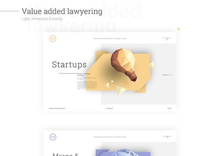 Cliperton - Attorneys at law - Website
