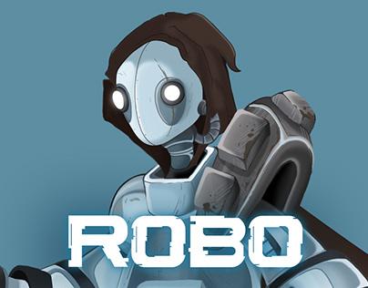 ROBO - Animated Robot Character Design