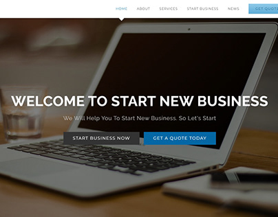 Business Consulting Website