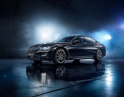 BMW 7 BLACK ICE edition