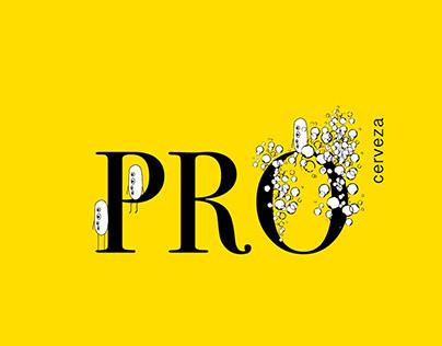 Pro Cerveza. Proyecto de Identidad Corporativa.