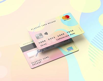 Plastic Card / Bank Card MockUp