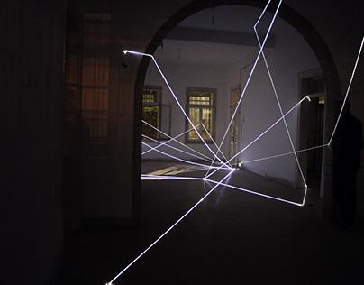 Fiber optic, Installation, Light installation
