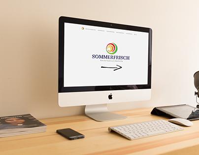 Site internet Wordpress Sommerfrisch (2017)