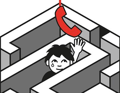 Telefono S.O.S Infanzia Logo's restyling