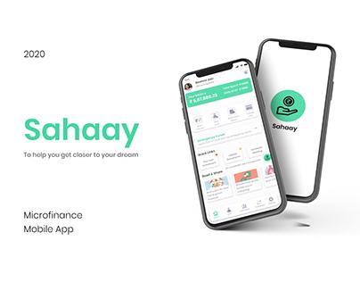 Sahaay - Microfinance Mobile App
