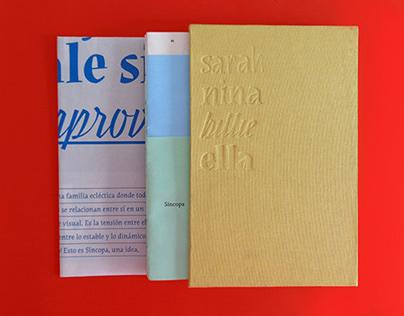 Sincopa Specimen Book (CDT project)
