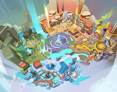 Heroes Strike Environment Map