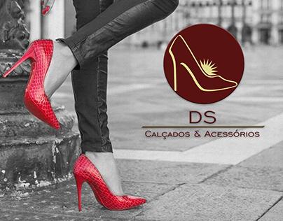 Identidade Visual de empresa online de sapatos