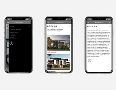 ROCLAR Constructions Website design