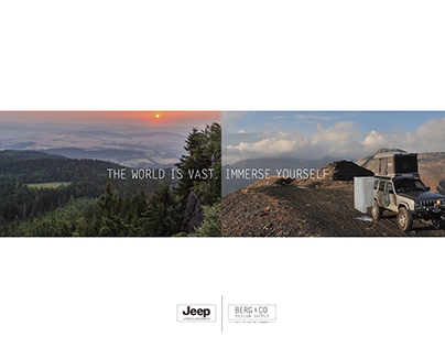 Jeep Camp Shower Advertisements