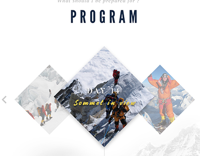 Concept Webdesign - Booking Travel Website - Free PSD