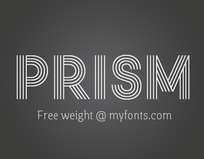 Prism Typeface