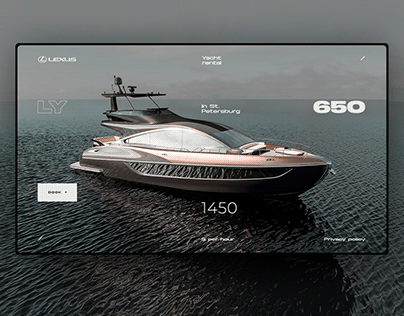 LY 650 Yacht rental