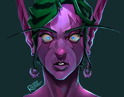 Night Elf - female