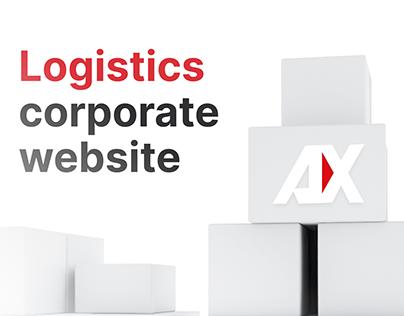 Logistics corporate website