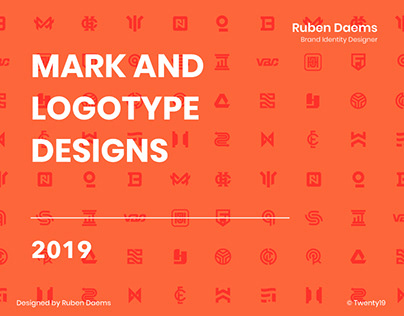 25 Mark and Logotype Designs | 2019