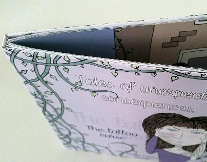 Handmade, Self Written Book 'The Tattoo Curse'