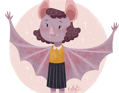 Vampire Bat Girl