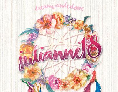 Dream, Wander, Love: Julianne's 18th