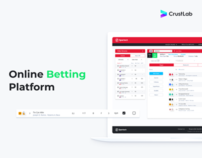Sportech - online betting platform