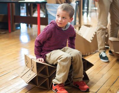 Sprocket | Cardboard Chair