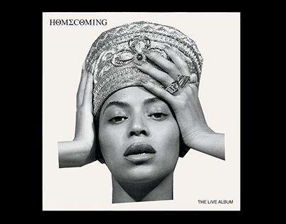 Beyoncé—Homecoming Key Art & Campaign Design
