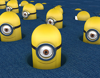 Minions Mograph Animation