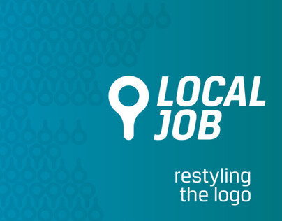 Local Job - restyling the logo