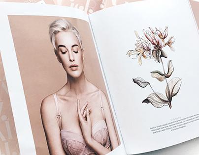 Flowers for italian lingerie brand SILENZA