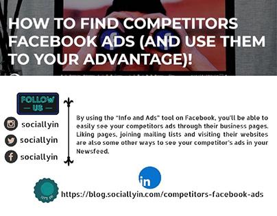 FindCompetitors Facebook Ads
