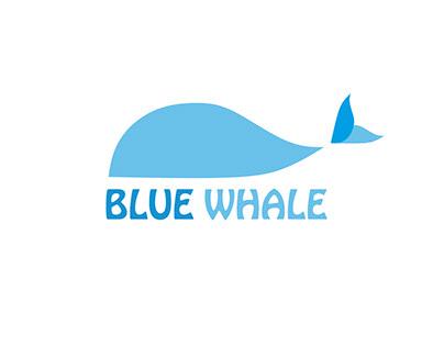 """Logo - """"Blue Whale"""""""