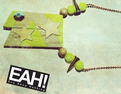 EAH! necklaces for WonderWood - Februari 2013