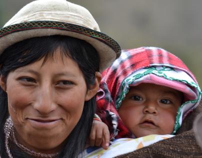 Faces of Sta. Terresita, Ecuador