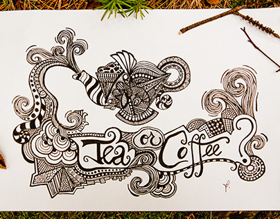 Doodling and Handlettering