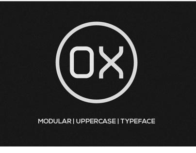 OX   Modular Typeface