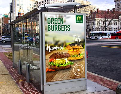 Green Burgers - McDonalds