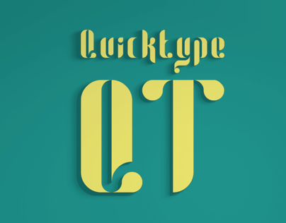 Quicktype (Free Font)