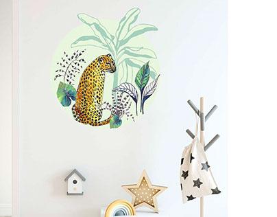 Wall decoration for Falra magyar! brand