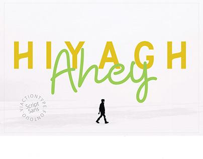 Hiyagh Ahey - Font Duo