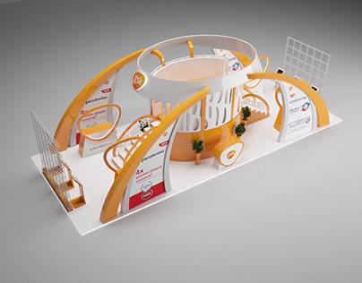 Aedec exhibition stall for GlaxoSmithKline