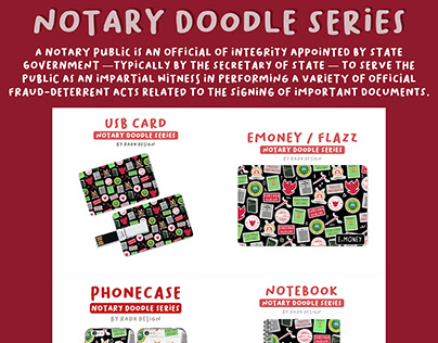 Notary Doodle Series