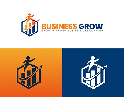 Business Grow Logo Design