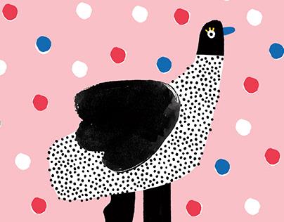 Cover illustration for KUKBUK dzieciaki