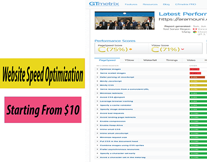 Speed Up Your Website. Starting Only At: $10 #webspeed