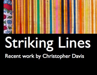 Striking Lines: Christopher Davis