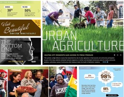 Lehigh University's Undergraduate Website