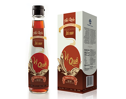 Vi Que - fish sauce packaging