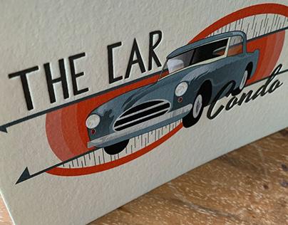 The Car Condo Letterpress Greeting Card Design